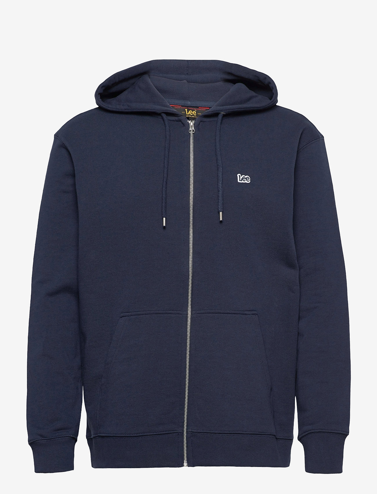 Lee Jeans - BASIC ZIP THROUGH HO - basic sweatshirts - navy - 0