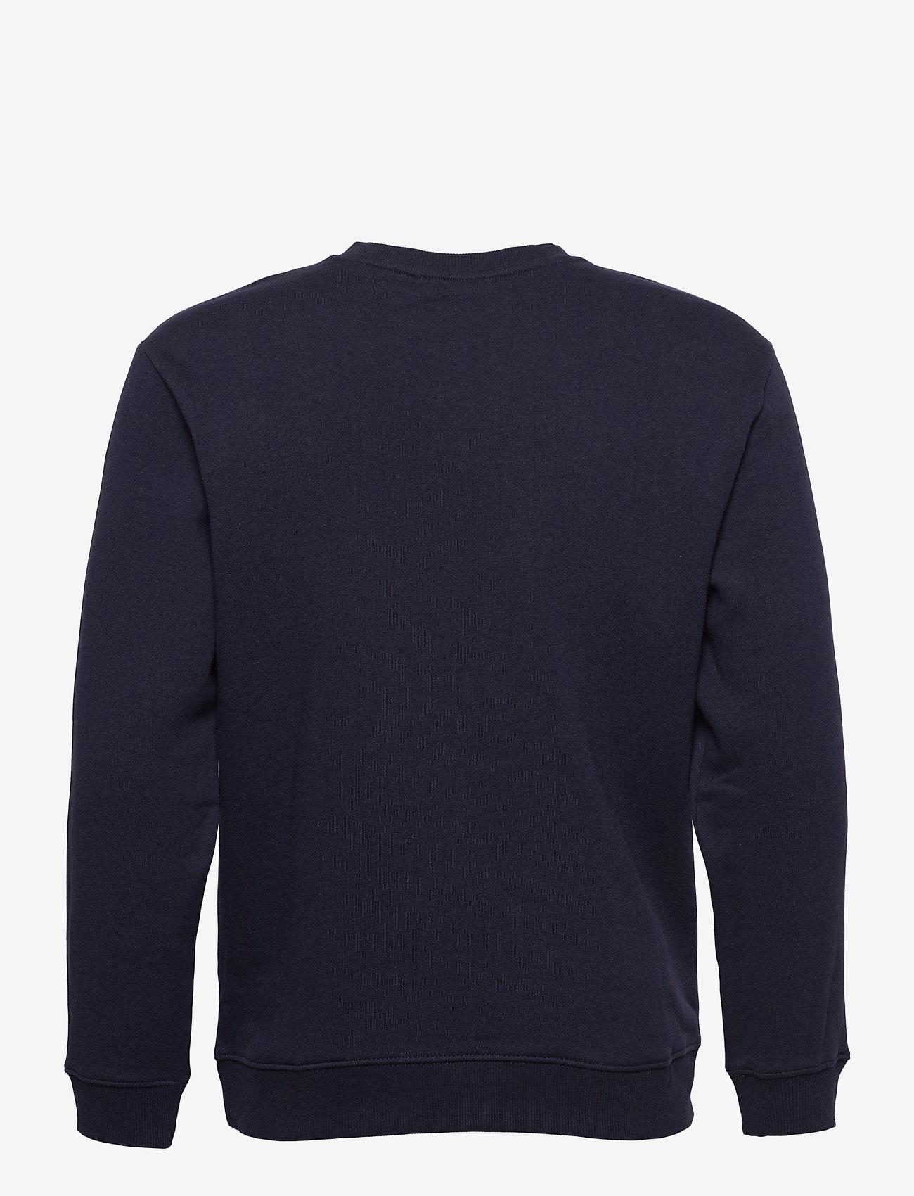 Lee Jeans - BASIC CREW LOGO SWS - tops - midnight navy - 1