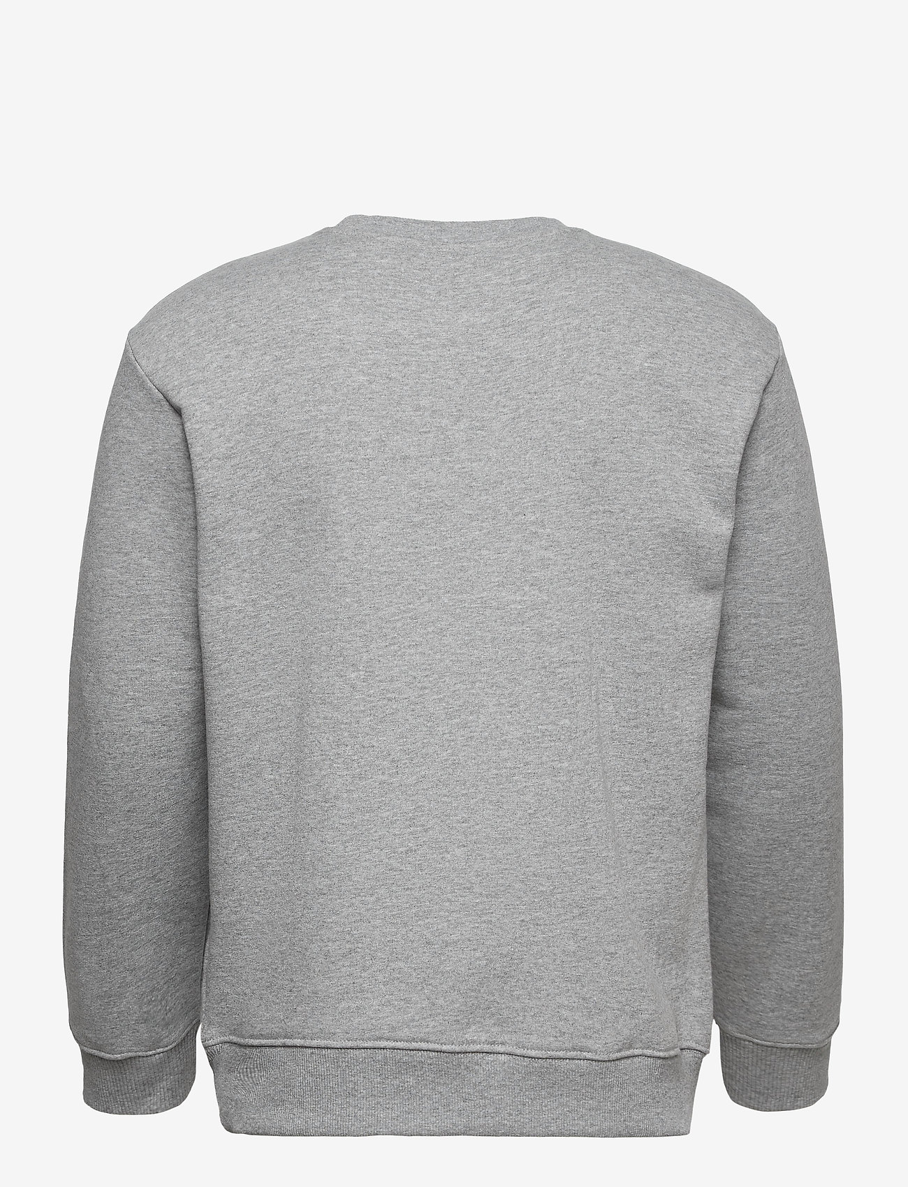 Lee Jeans - BASIC CREW LOGO SWS - tops - grey mele - 1