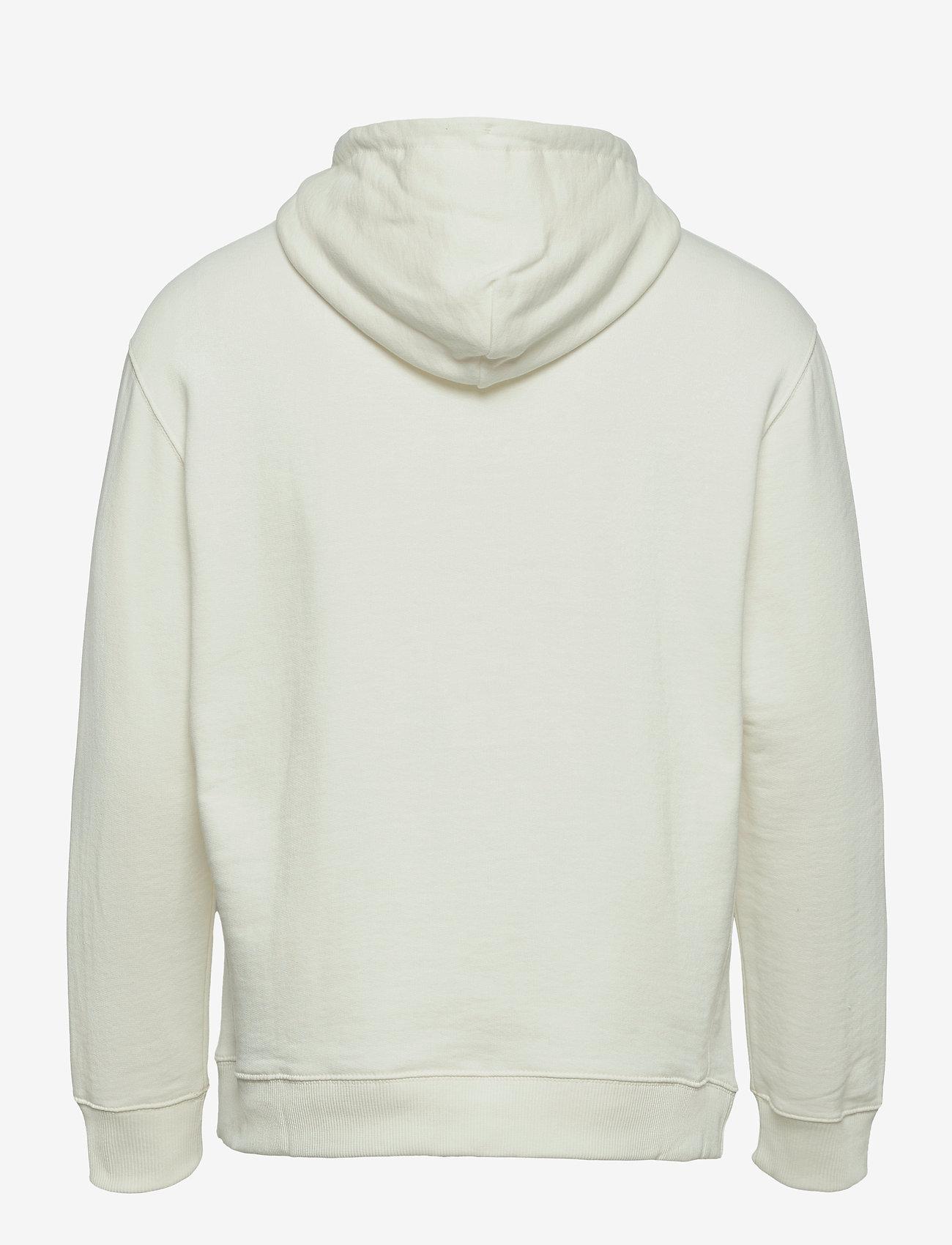 Lee Jeans - PLAIN HOODIE - basic sweatshirts - ecru - 1