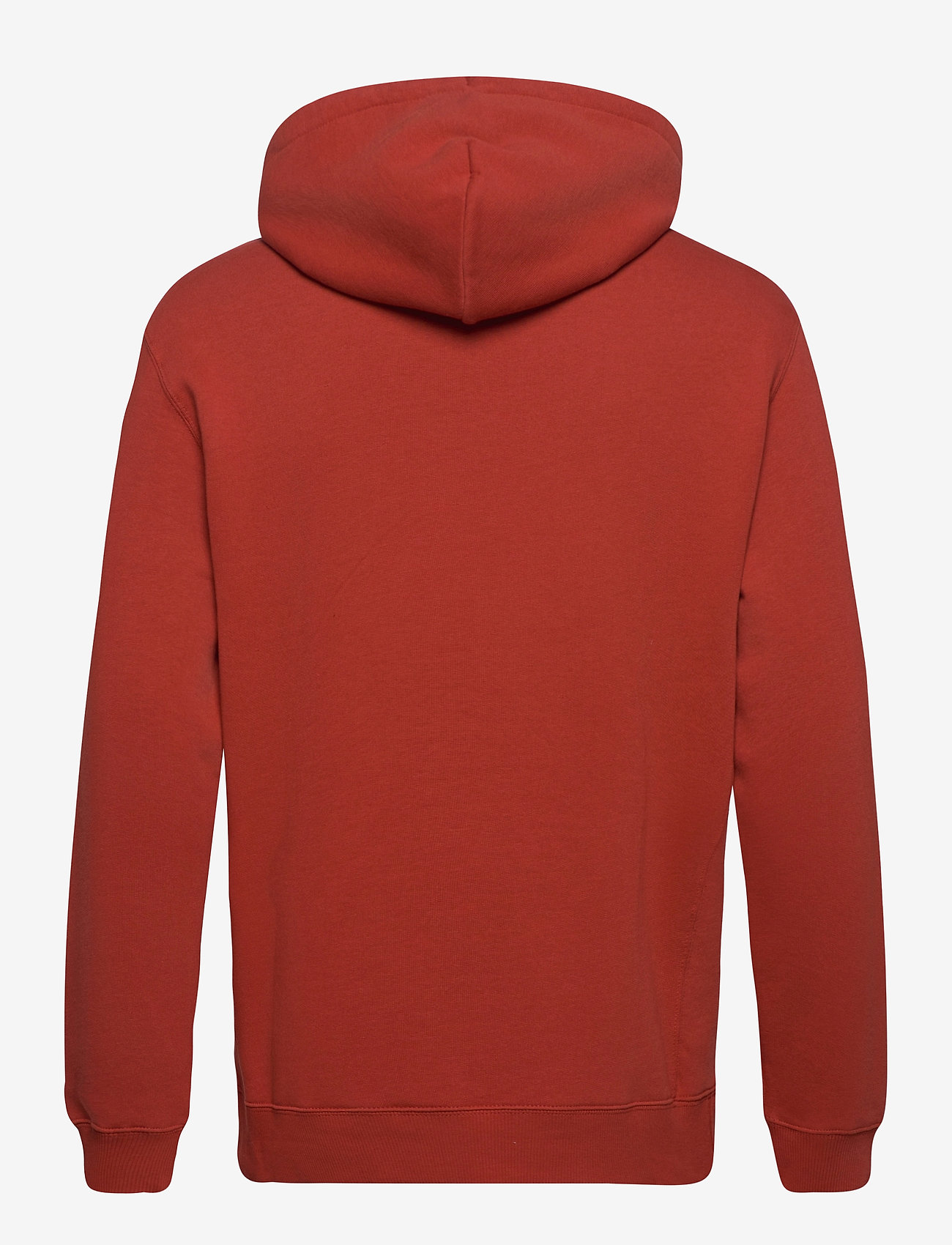 Lee Jeans PLAIN HOODIE - Sweatshirts RED OCHRE - Menn Klær