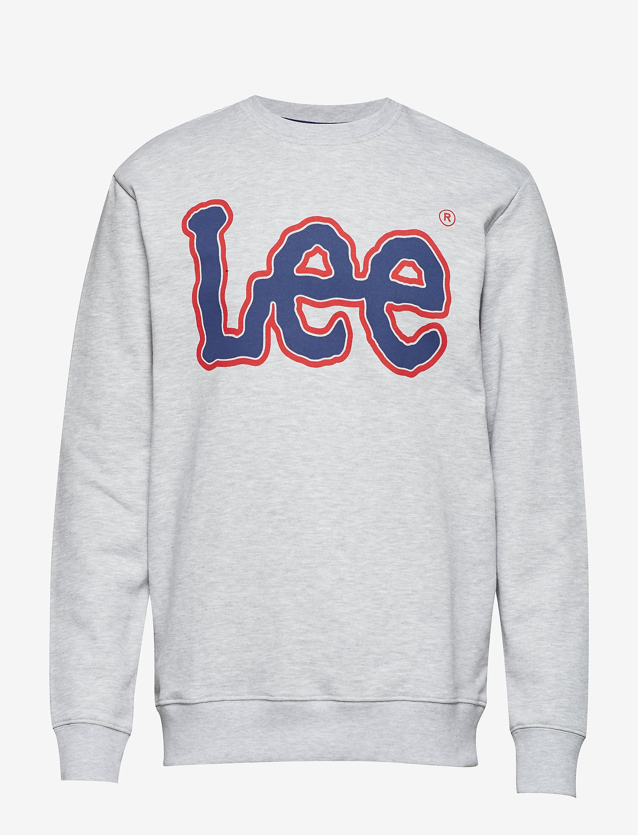 Lee Jeans - LOGO SWS - sweatshirts - sharp grey mele