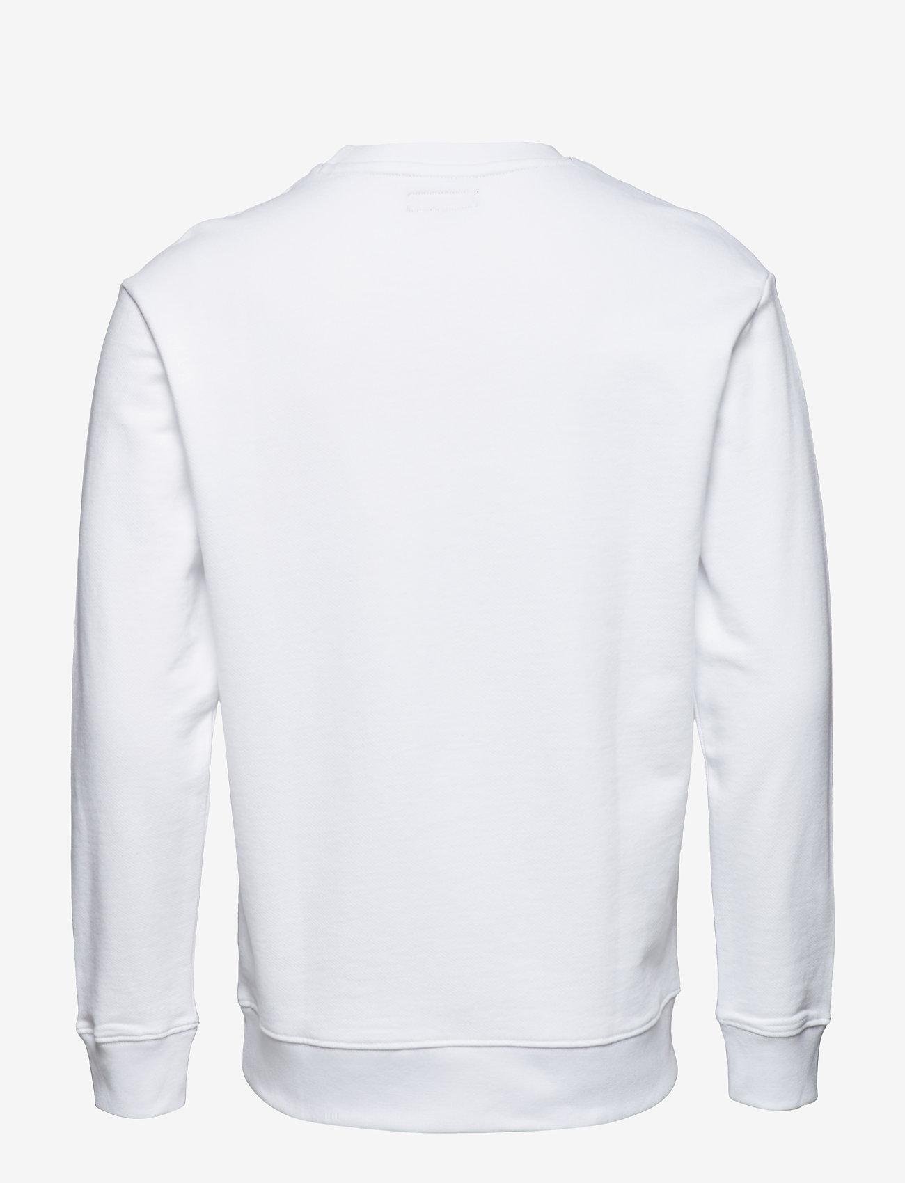 Lee Jeans - LOGO SWS - sweatshirts - white