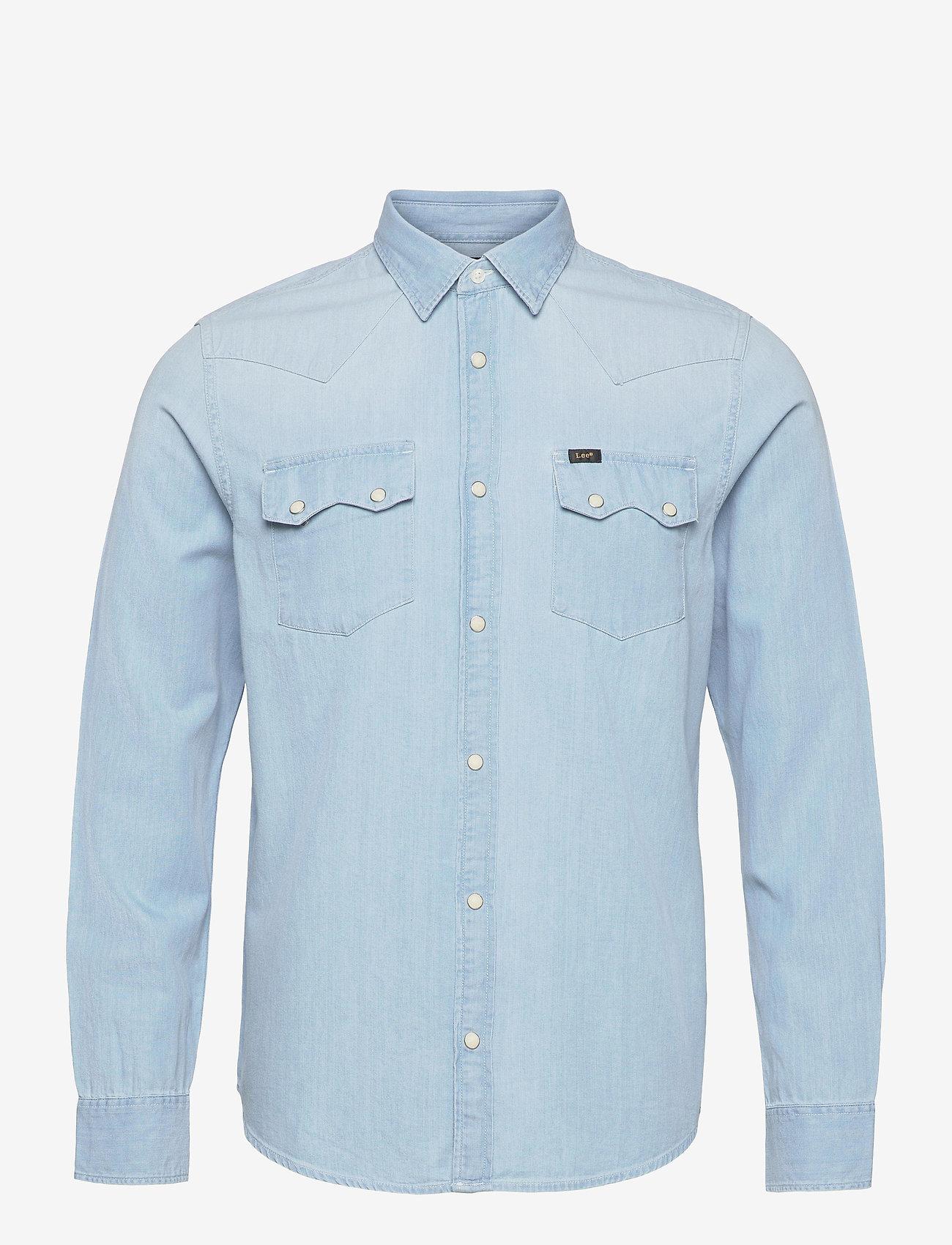 Lee Jeans - LEE RIDER SHIRT - basic shirts - summer blue - 0