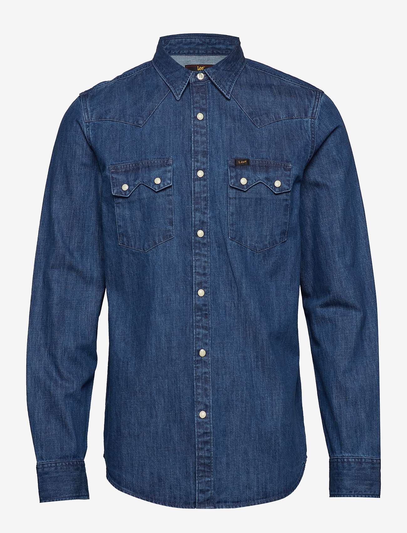 Lee Jeans - LEE RIDER SHIRT - denim shirts - dipped blue - 0