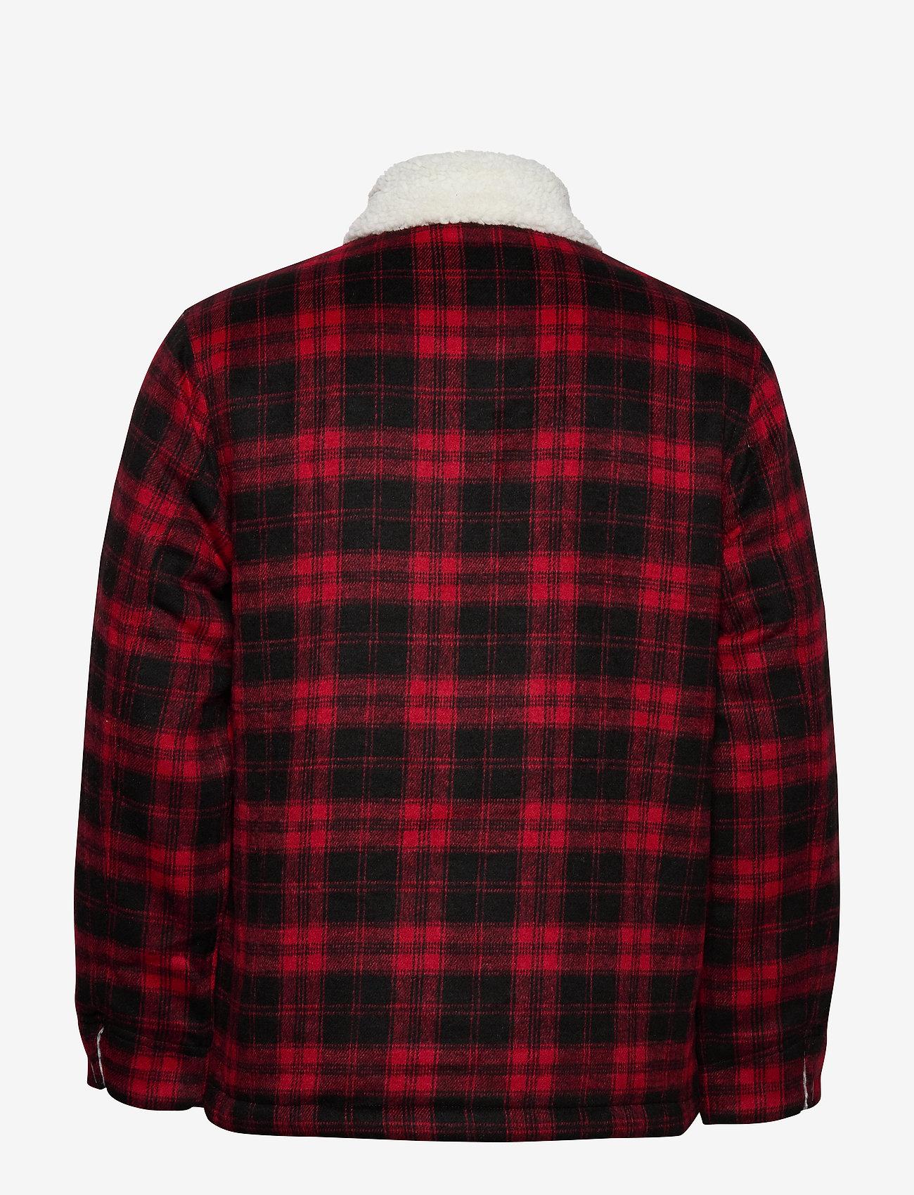 Lee Jeans - WOOL LOCO SHERPA - wool jackets - warp red - 1