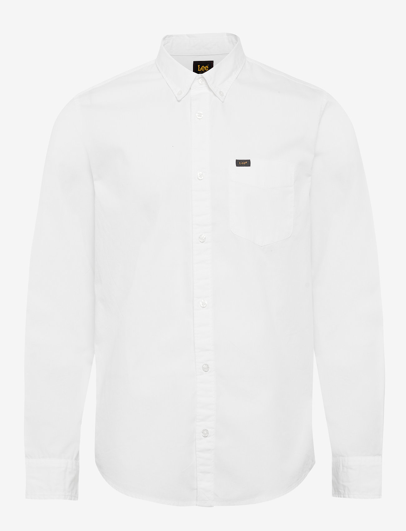 Lee Jeans - LEE BUTTON DOWN - denim shirts - white - 0