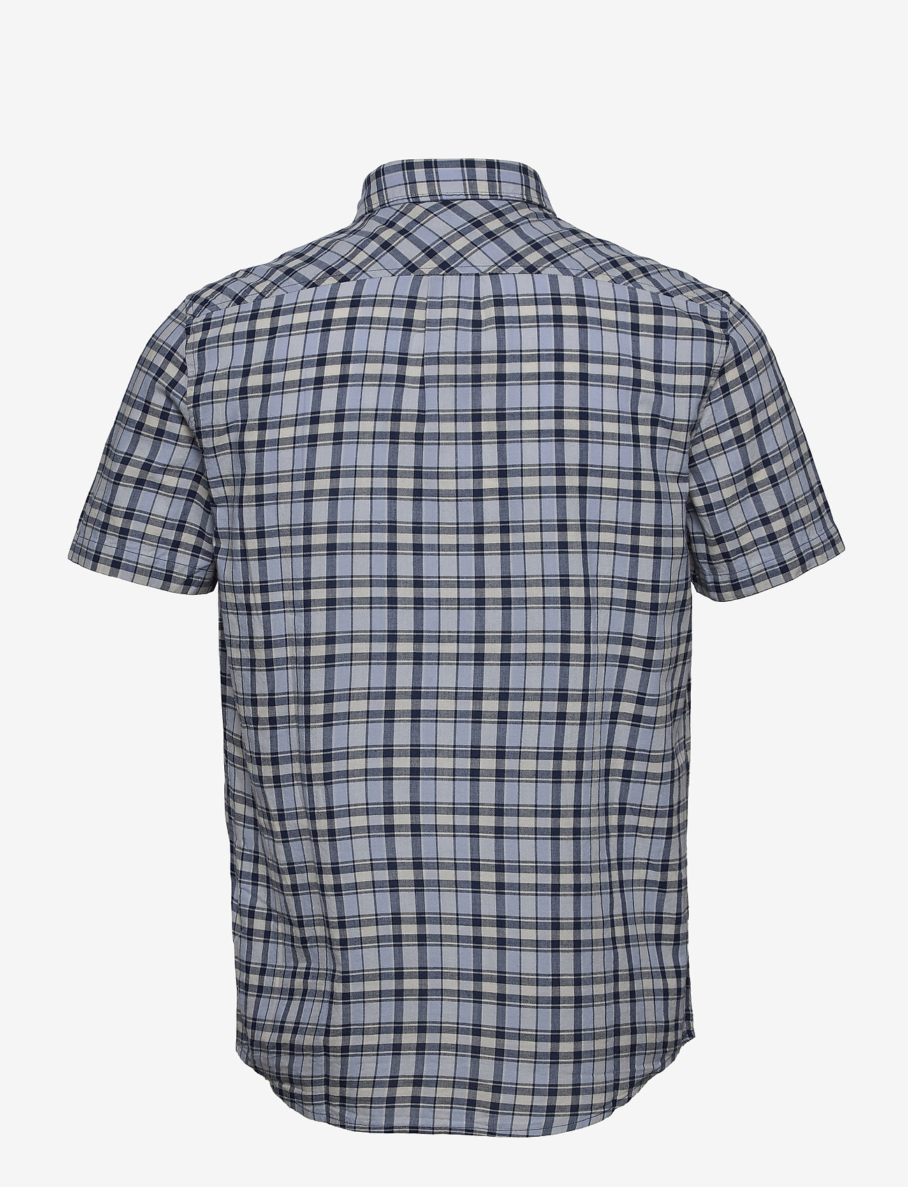 Lee Jeans - LEE BUTTON DOWN SS - checkered shirts - washed blue - 1