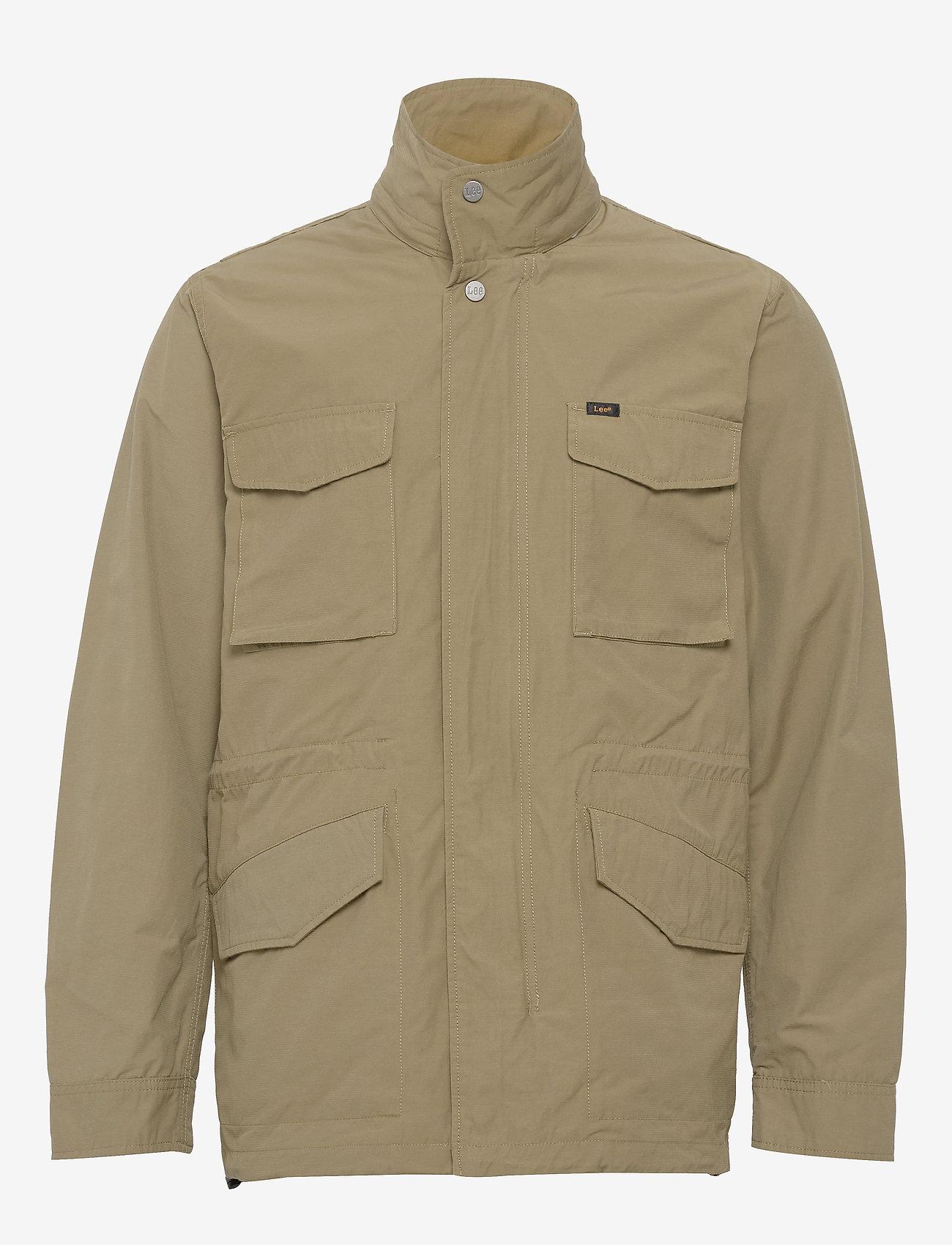 Lee Jeans - FIELD JACKET - light jackets - utility green - 1
