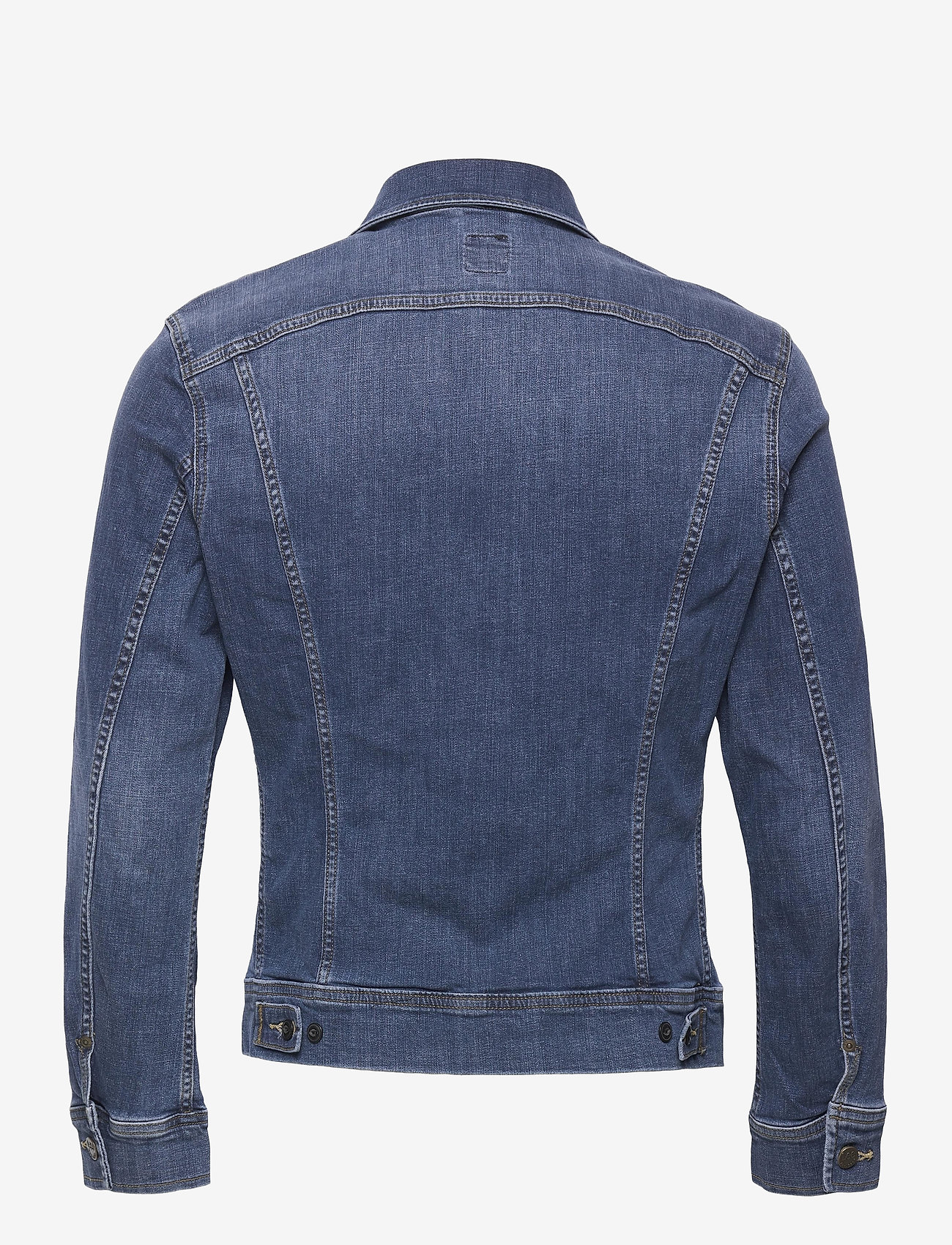 Lee Jeans - SLIM RIDER - denim jackets - mid visual cody - 1