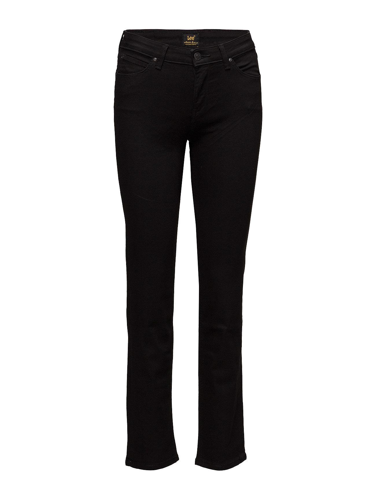 LEE Marion Straight Straight Jeans Hose Mit Geradem Bein Schwarz LEE JEANS