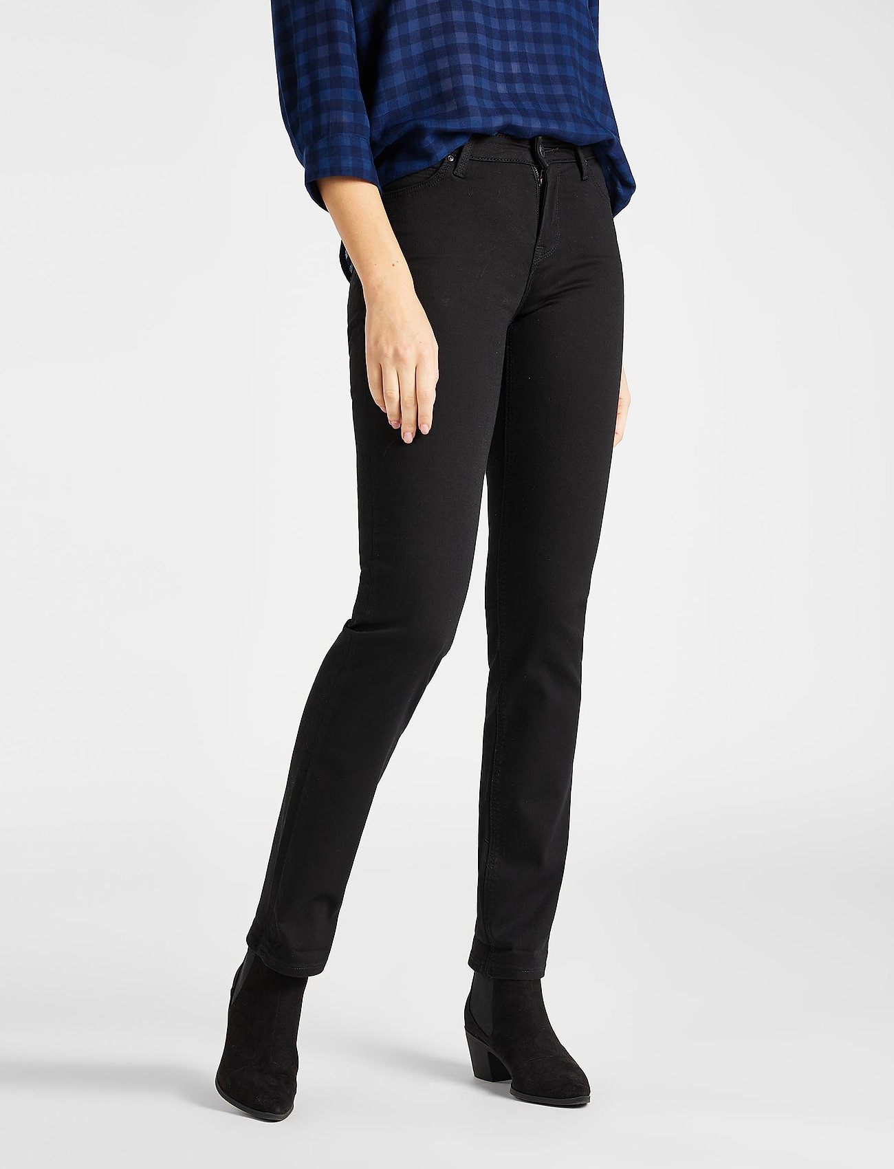 Lee Jeans - Marion Straight - straight jeans - black rinse - 0