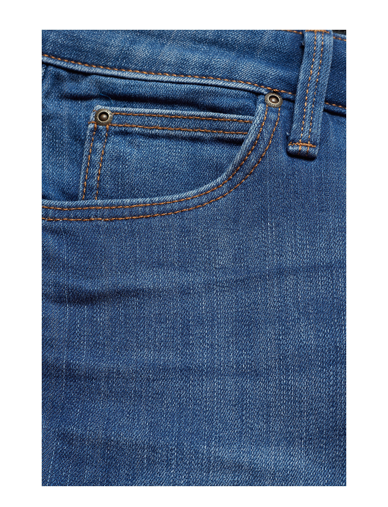 Lee Jeans - SCARLETT CROPPED - slim jeans - high blue - 0