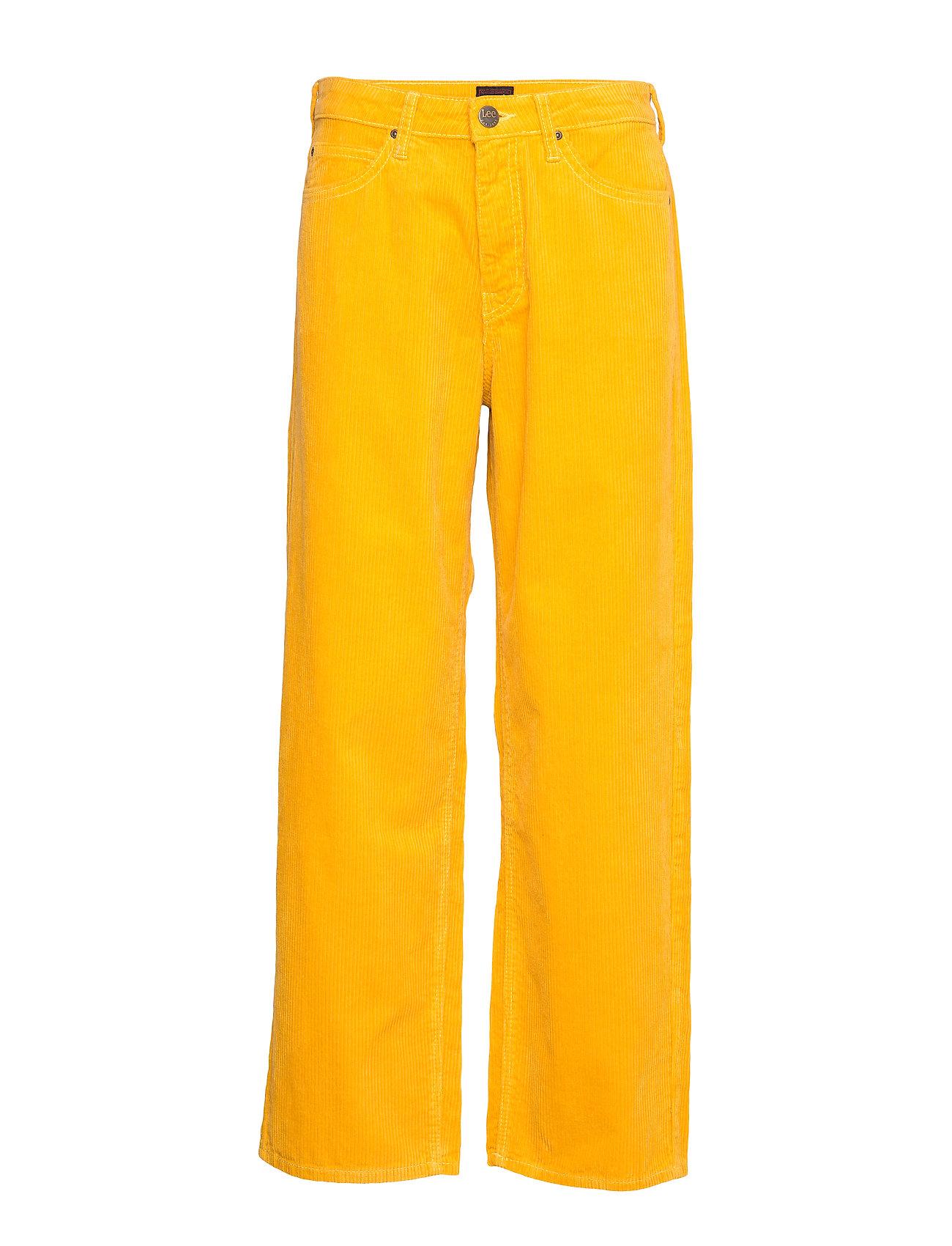 LEE 5 Pocket Wide Leg Hosen Mit Weitem Bein Gelb LEE JEANS