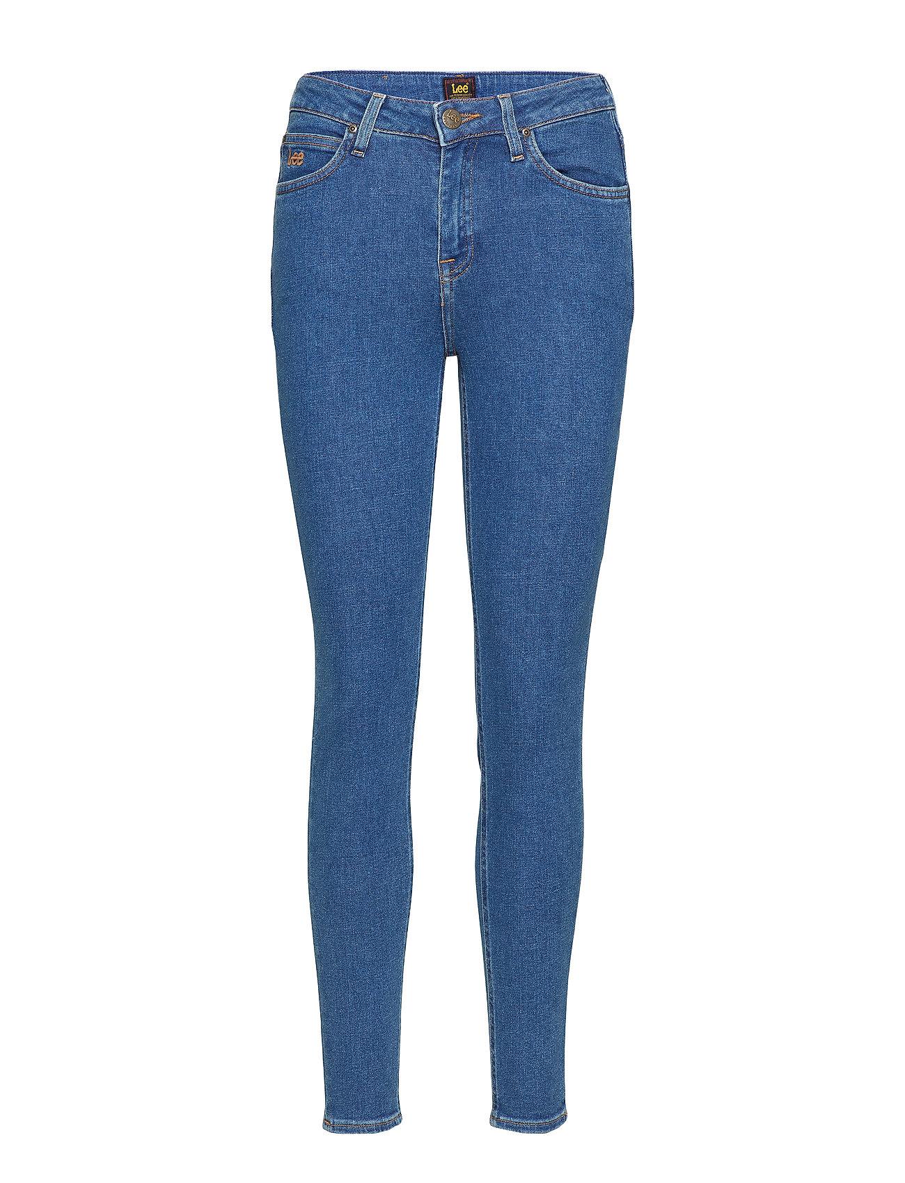 160170b5775 Scarlett High (Flat Stone) (£59.50) - Lee Jeans -