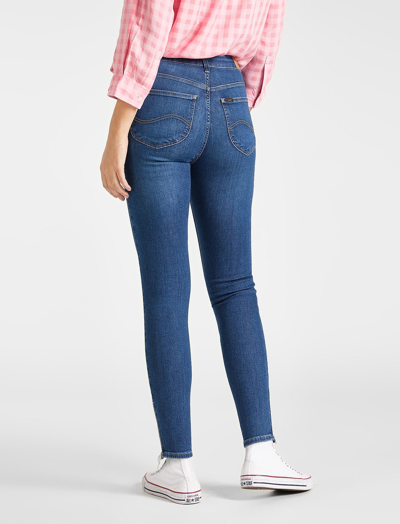 Lee Jeans Scarlett High Zip -