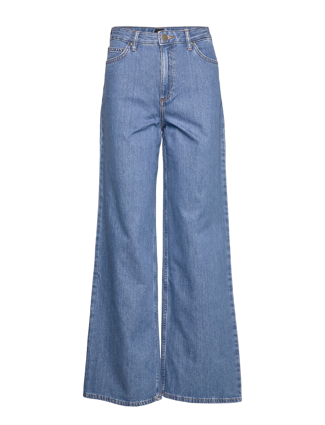 Lee Jeans SUPER HIGH A LINE FL - CLEAN ROSEWOOD