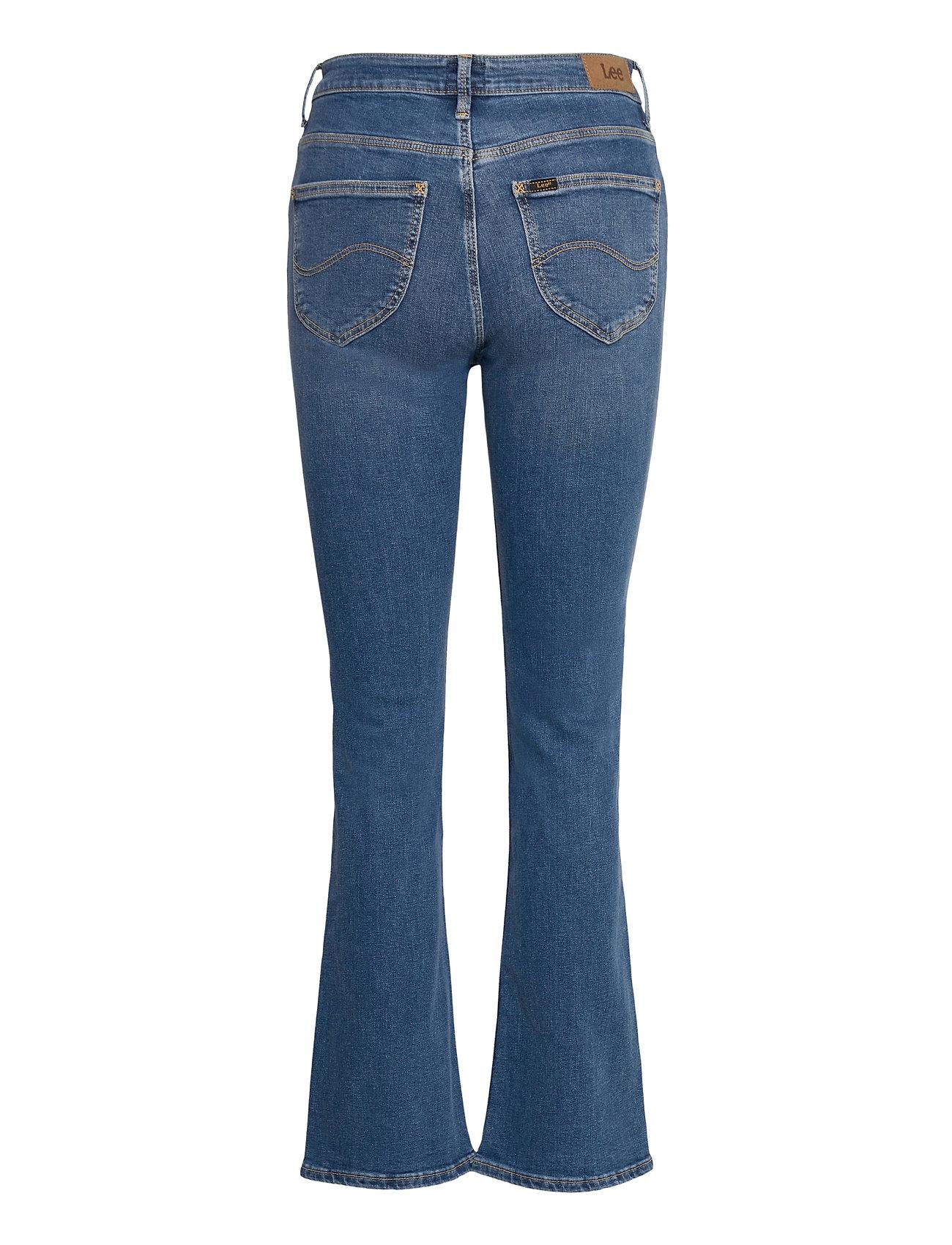 Lee Jeans - BREESE BOOT - schlaghosen - mid worn martha - 1