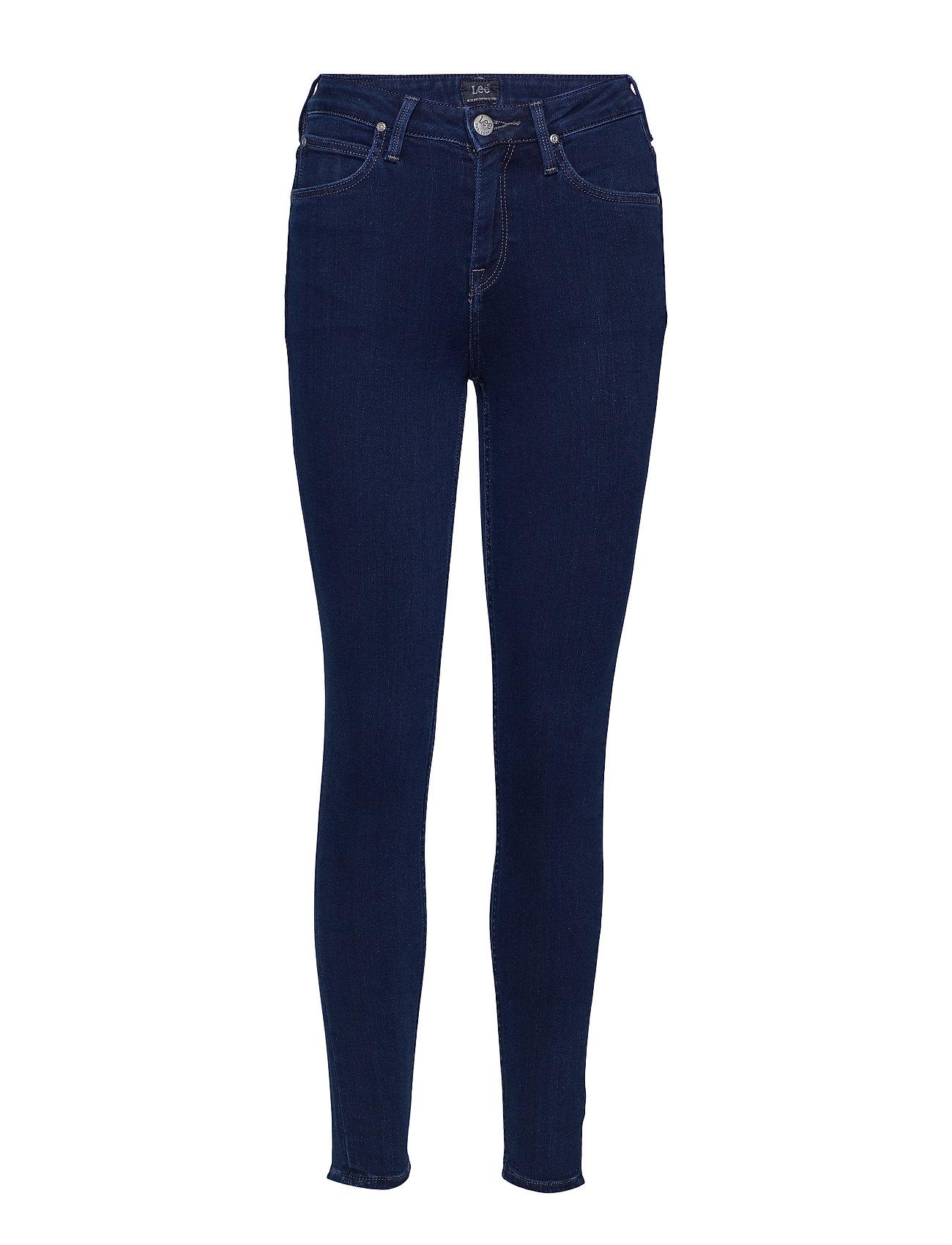 Lee Jeans Scarlett High Croppe - DARK MATTER