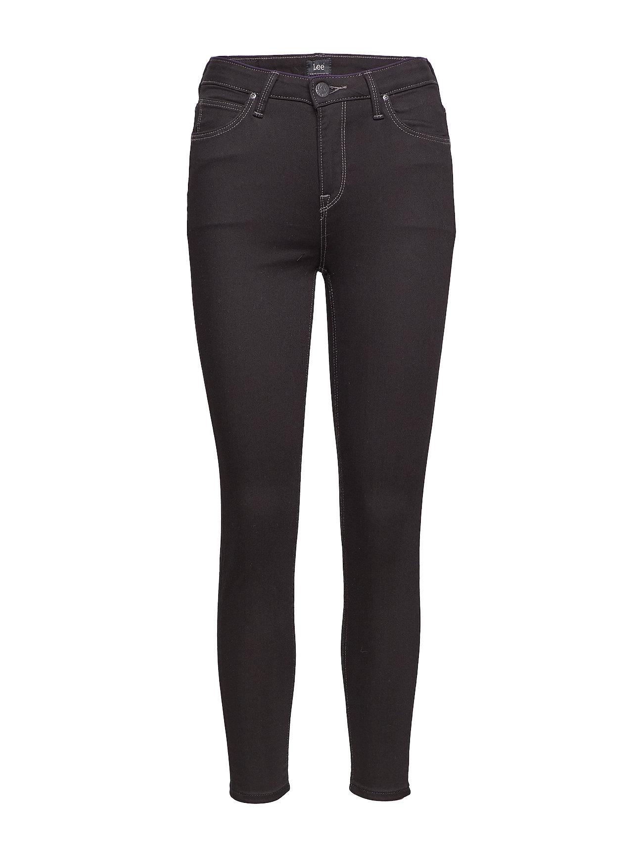 Lee Jeans Scarlett High Croppe - BLACK RINSE