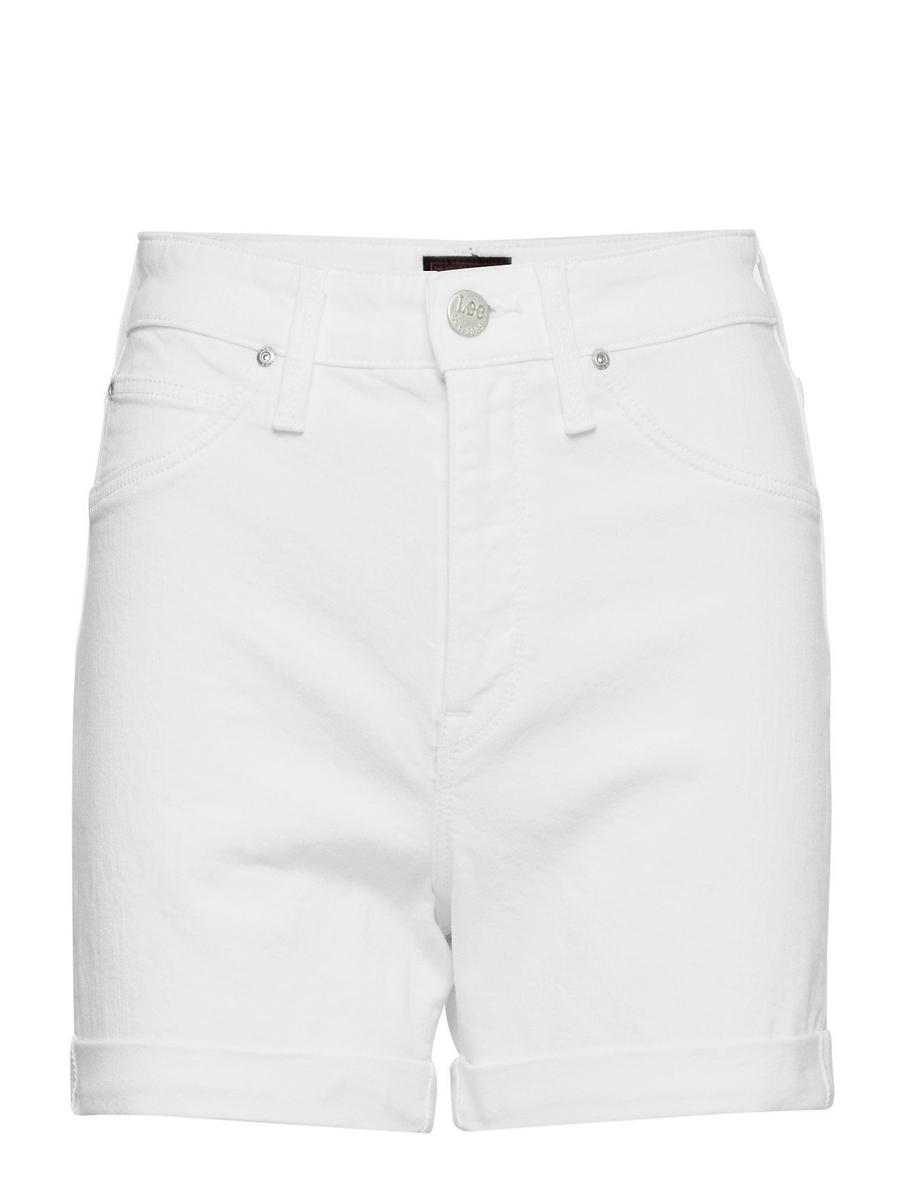 Lee Jeans MOM SHORT - OFF WHITE