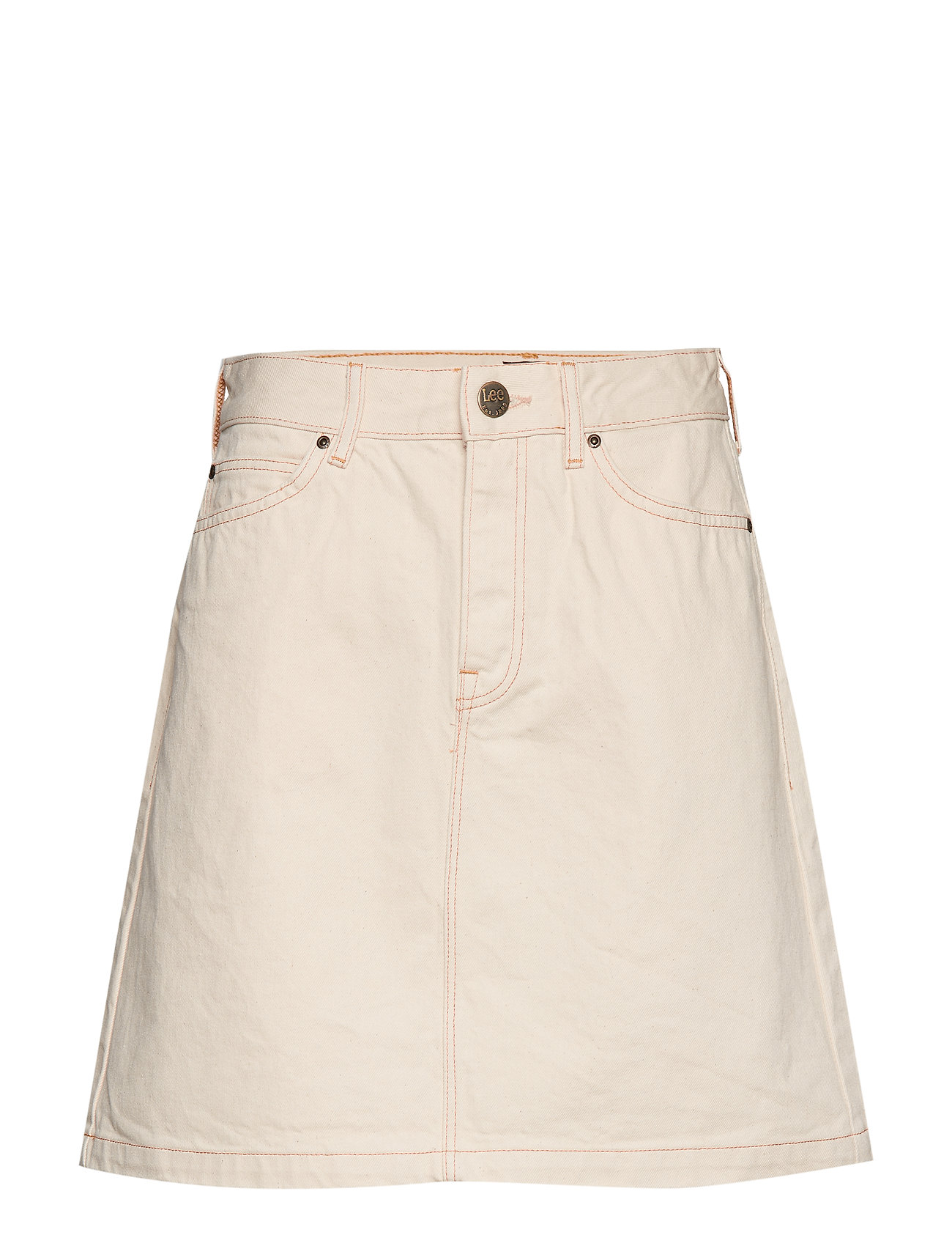 Lee Jeans SEASONAL SKIRT - OFF WHITE