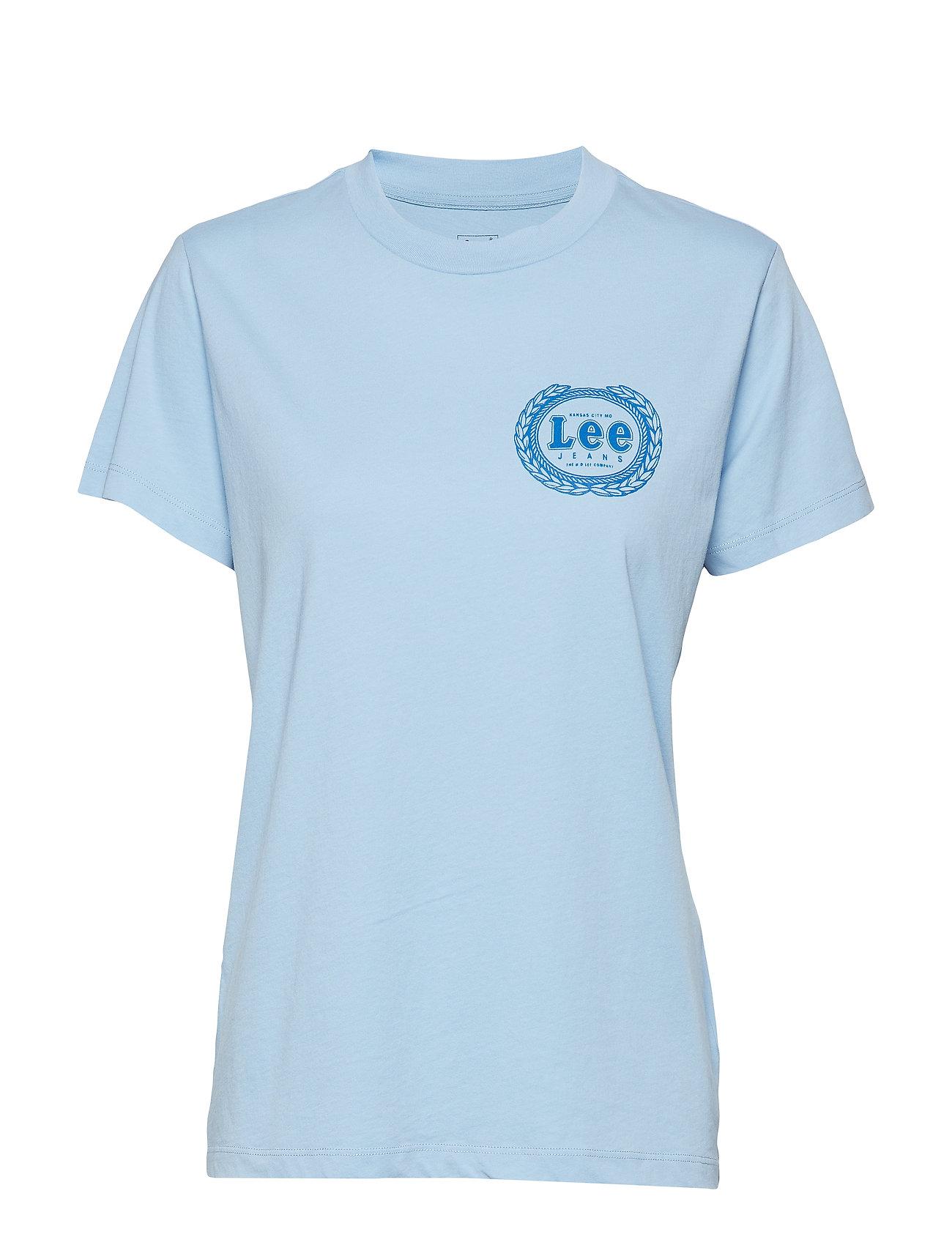 Lee Jeans EMBLEM T - SKY BLUE