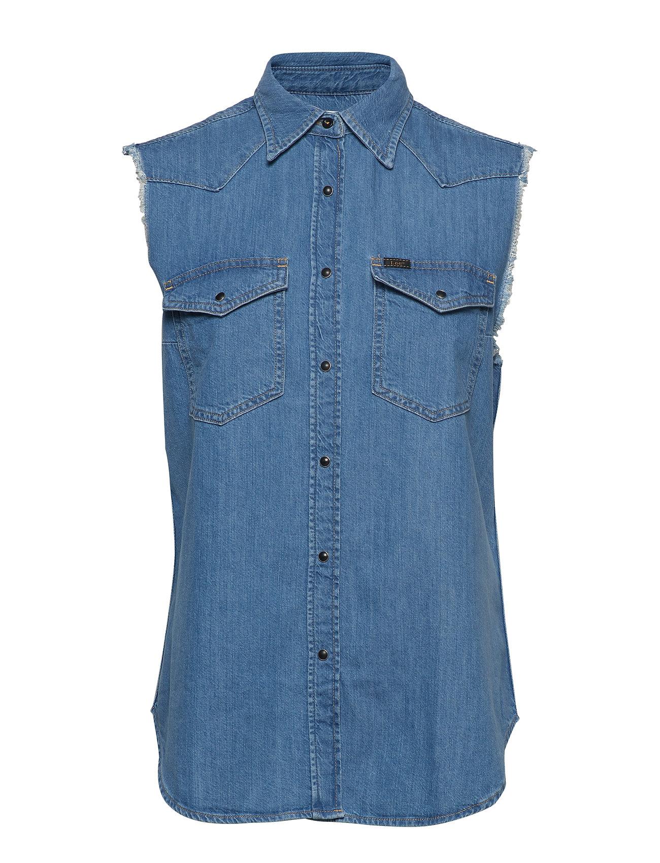Lee Jeans CUT OFF WESTERN SHIR Ögrönlar
