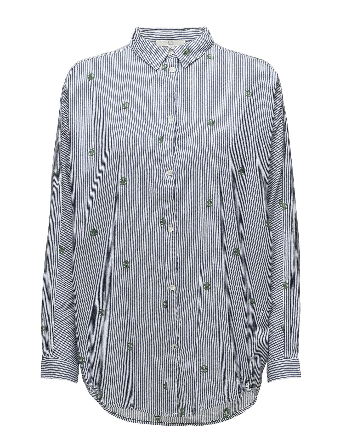 Lee Jeans LONGLINE SHIRT Ögrönlar