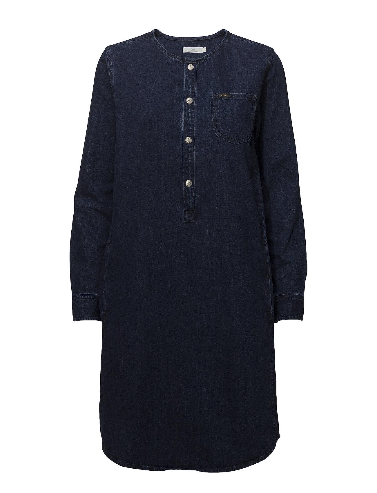 Lee Jeans OVERSIZED DRESS - WORN BLUE