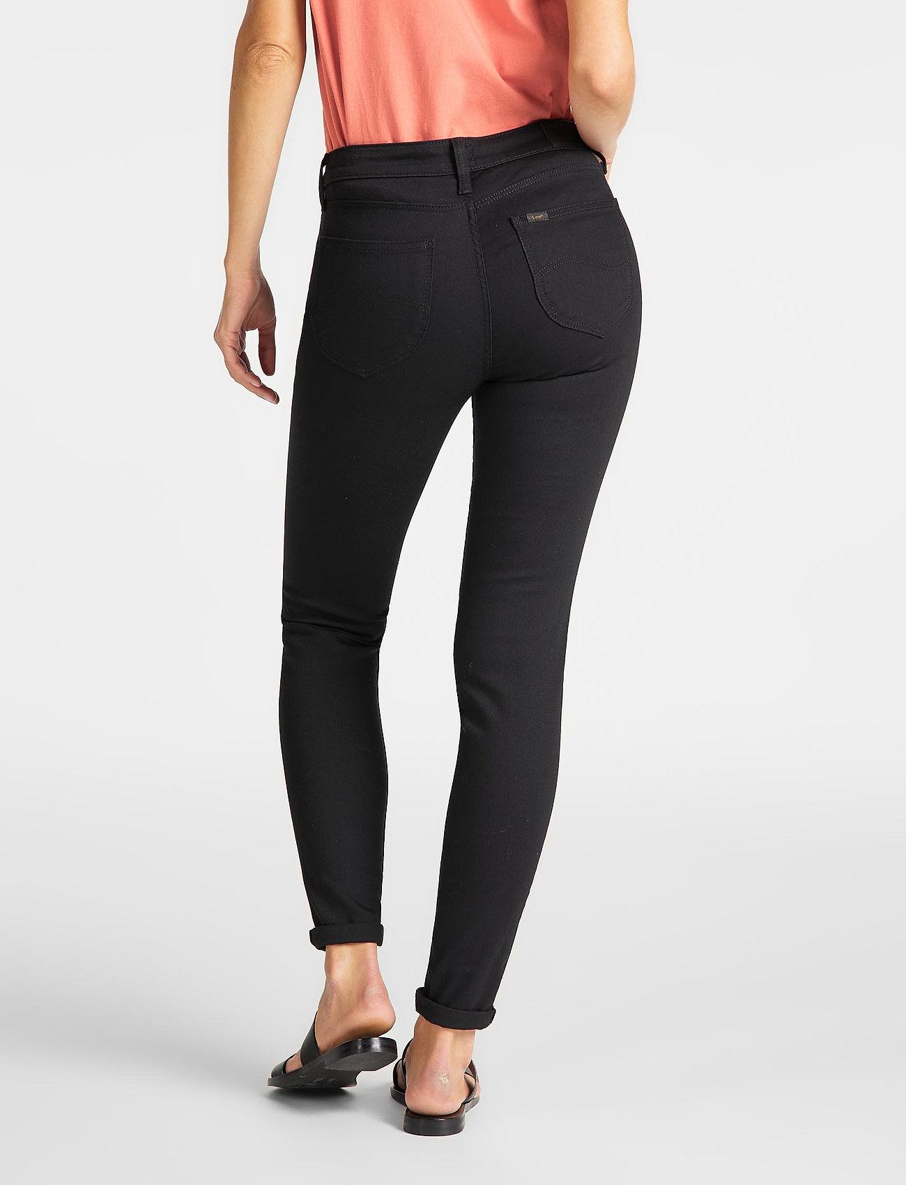 Lee Jeans - SCARLETT - skinny jeans - black rinse - 3