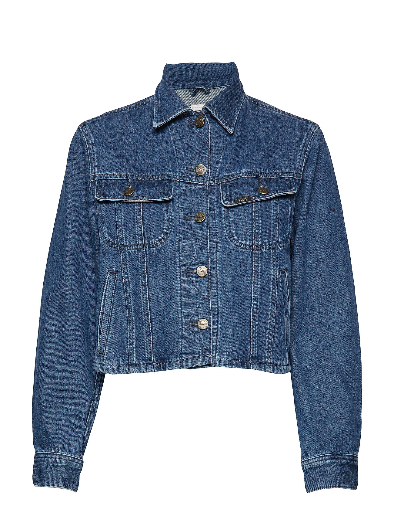 Lee Jeans CROPPED RIDER JACKET - TIC