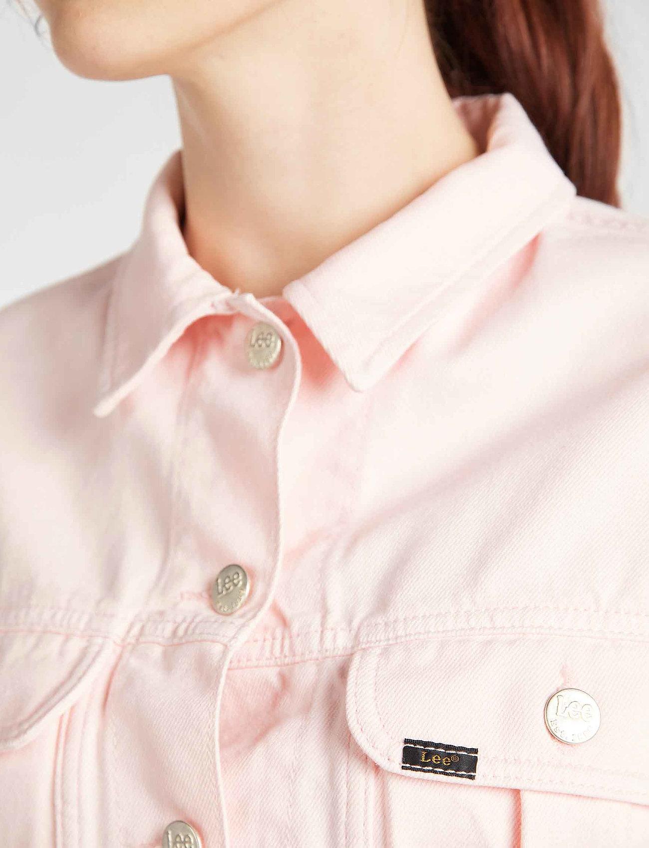 Lee Jeans Cropped Jacket - Jackor & Kappor Crystal Pink