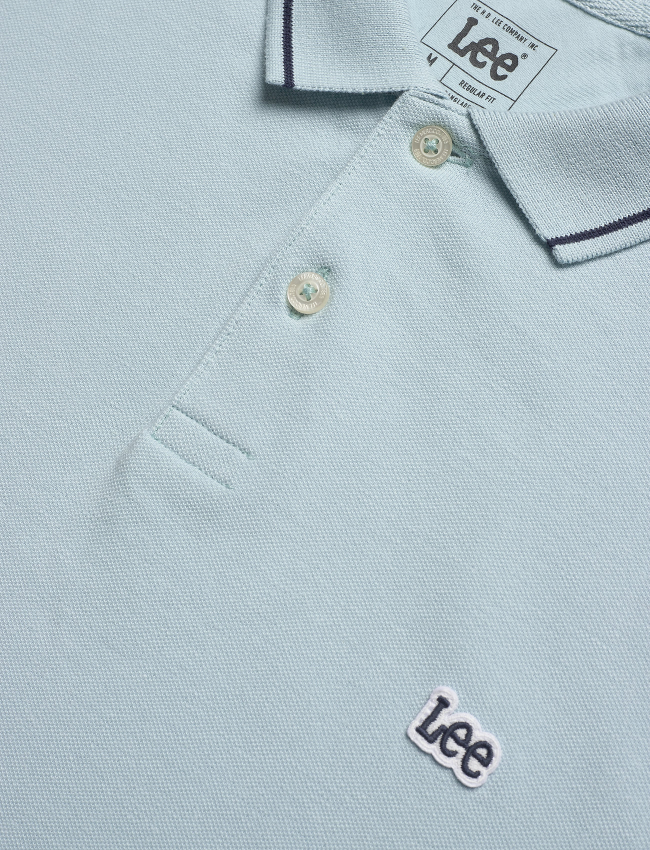 Lee Jeans PIQUE POLO - Poloskjorter STERLING BLUE - Menn Klær