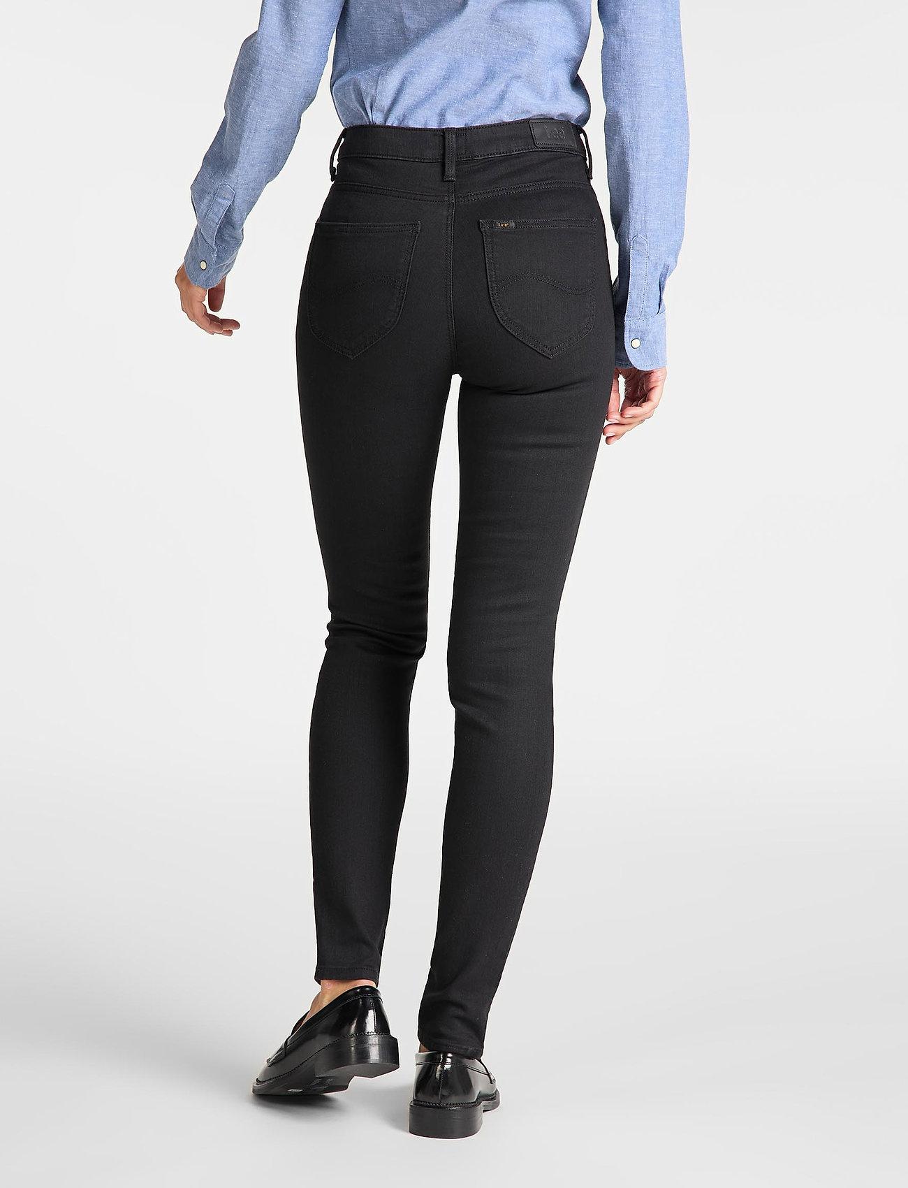 Lee Jeans - SCARLETT HIGH - skinny jeans - black rinse - 3
