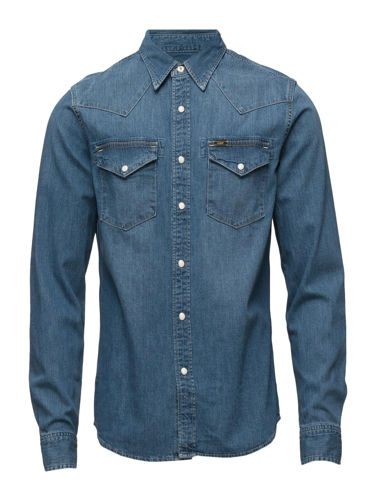 a52d844d5 Lee Western Shirt (Blue Stance) (£80) - Lee Jeans -