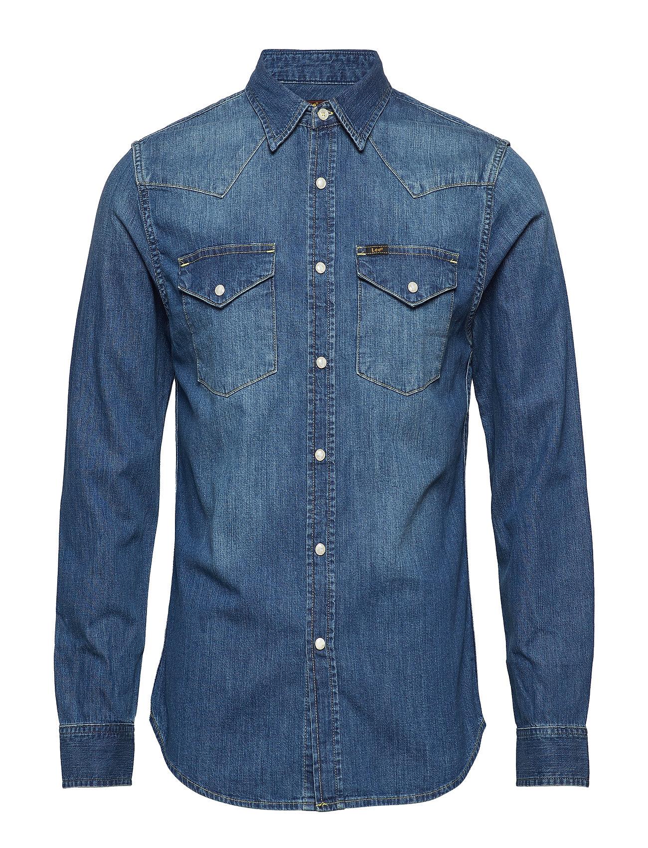af6d2ec5 Lee Western Shirt (Blue Stance) (£56) - Lee Jeans - | Boozt.com