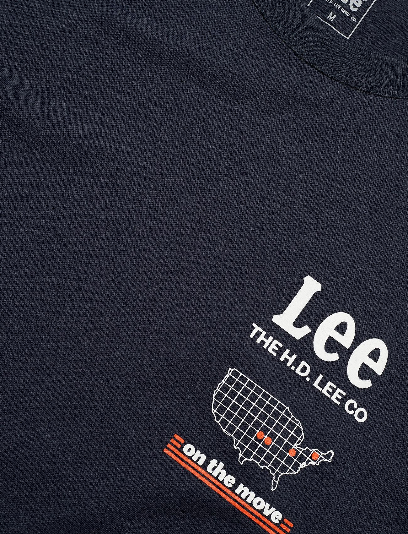 Lee Jeans Road Tee (Midnight Navy) 139.60 kr | Stort utbud av designermärken xKIns7OI