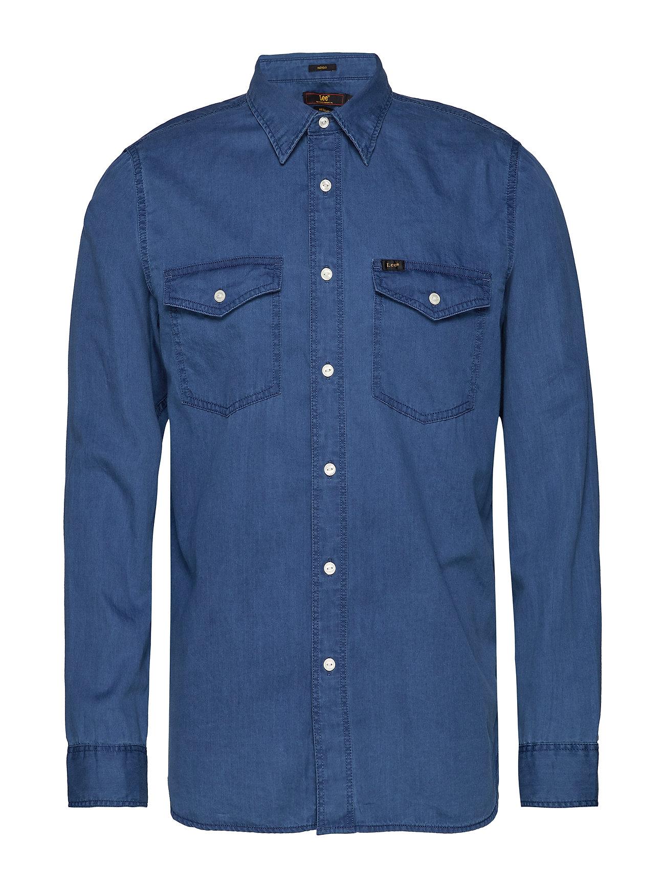 Lee Jeans REG.CLEAN WESTERN - CITY BLUE
