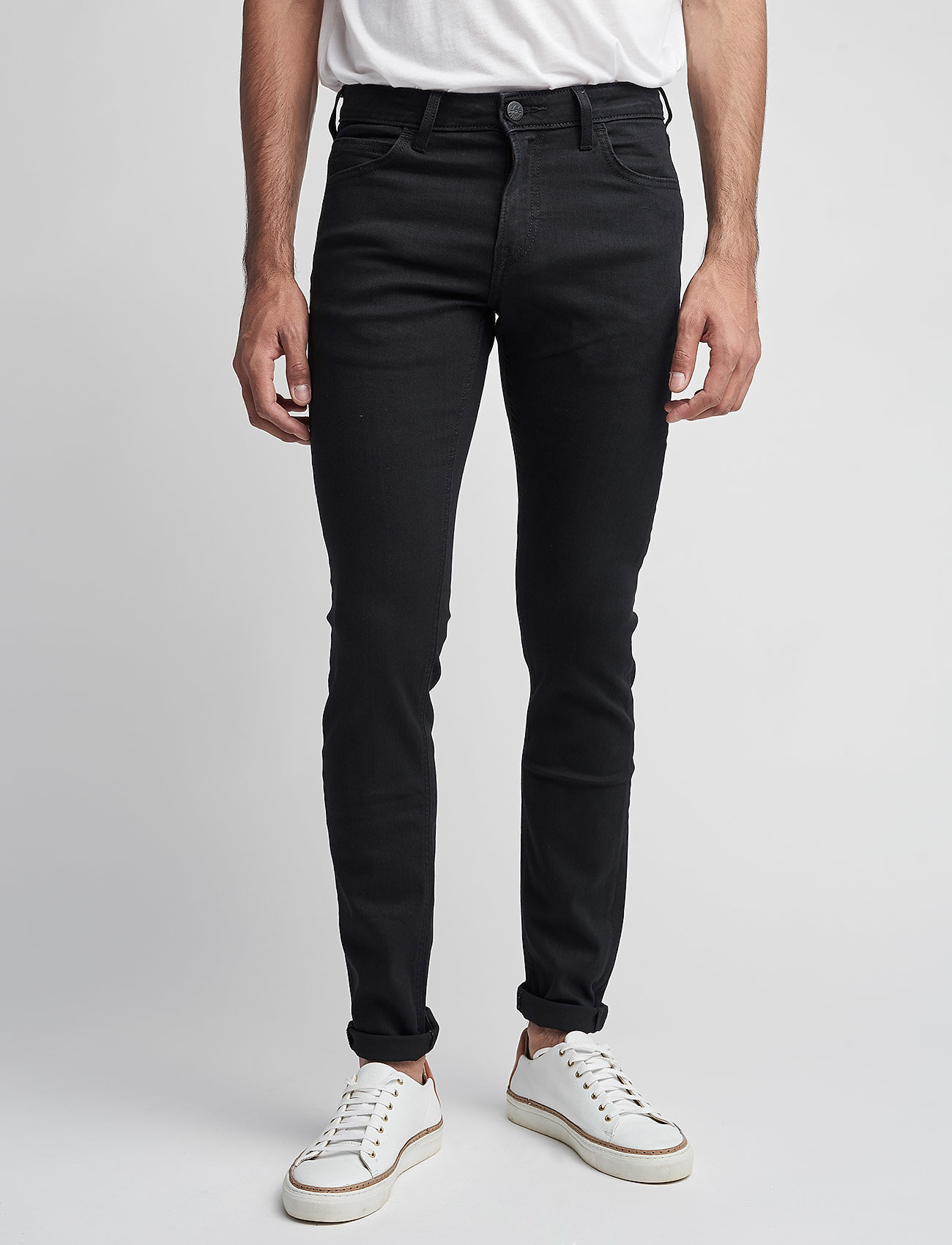 Lee Jeans - MALONE - skinny jeans - black rinse - 0
