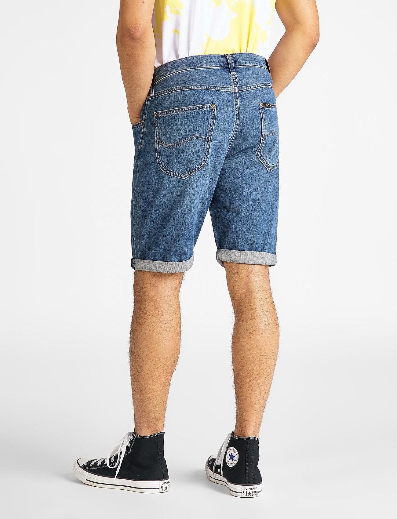 Lee Jeans 5 POCKET SHORT - Shorts SOFT MID ALISO - Menn Klær
