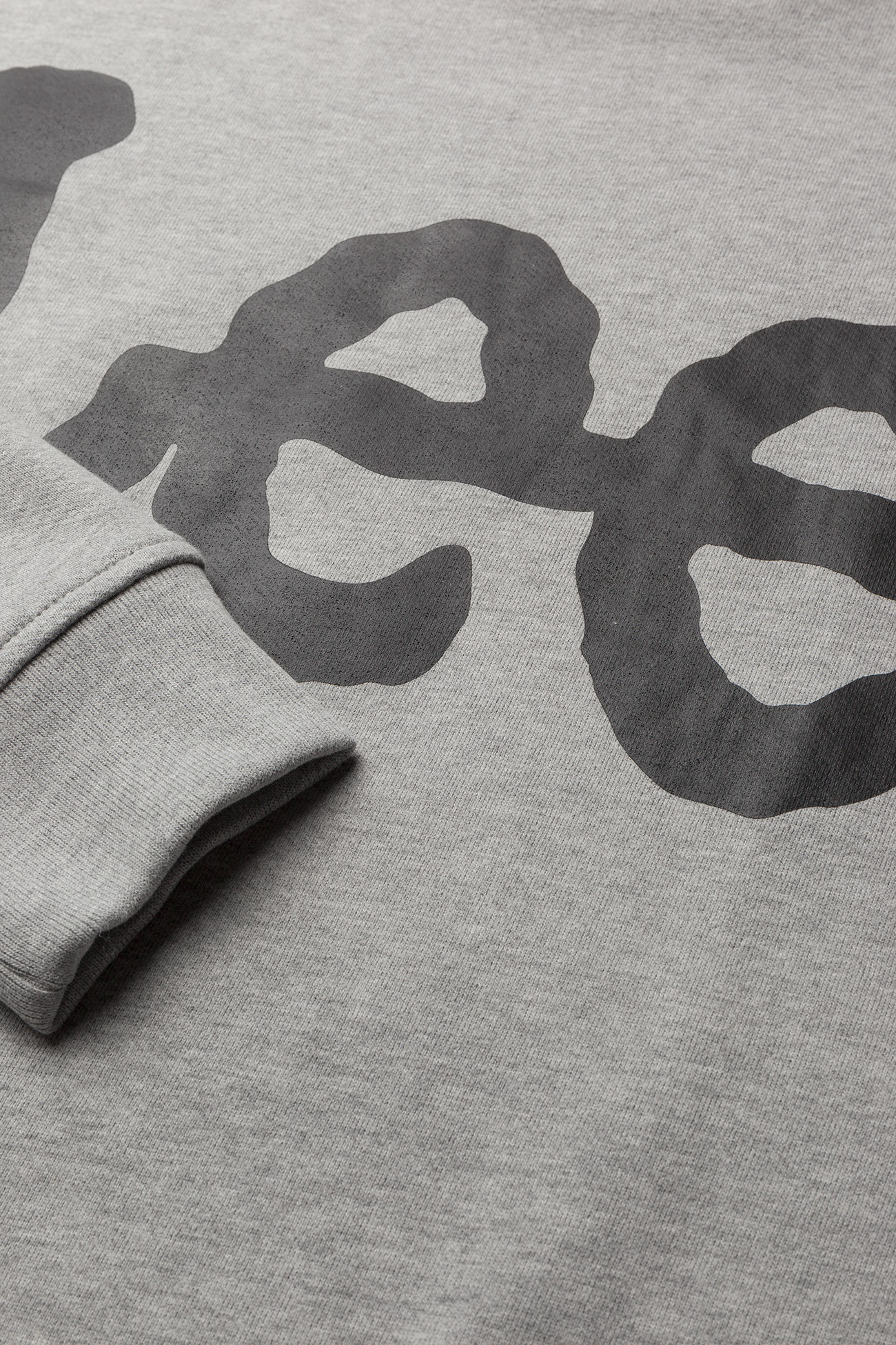 Lee Jeans Logo Sws - Sweatshirts Grey Mele