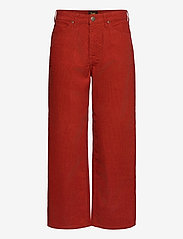 Wide Leg - RED OCRE
