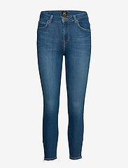 Lee Jeans - SCARLETT HIGH ZIP - slim jeans - mid candy - 1