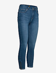 Lee Jeans - SCARLETT HIGH ZIP - slim jeans - mid candy - 2
