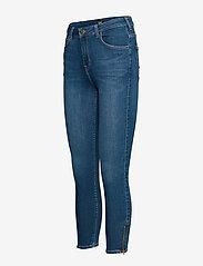 Lee Jeans - SCARLETT HIGH ZIP - slim jeans - mid candy - 3