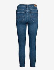 Lee Jeans - SCARLETT HIGH ZIP - slim jeans - mid candy - 4