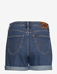 Lee Jeans - MOM SHORT - denimshorts - mid stonewash - 2