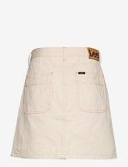 Lee Jeans - SEASONAL SKIRT - denimskjørt - off white - 1
