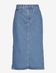 Lee Jeans - THELMA SKIRT - denimskjørt - clean callie - 0
